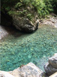 きれいな川
