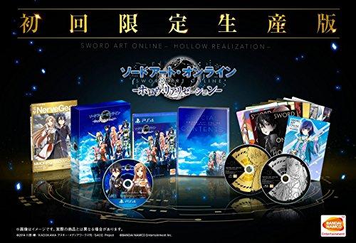 PS4 ソードアート・オンライン ―ホロウ・リアリゼーション―(限定版)