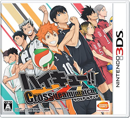 3DS ハイキュー!! Cross team match!