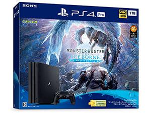PS4 Pro モンスターハンターワールド:アイスボーン スターターパック