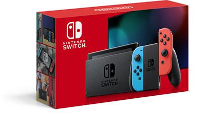 Nintendo Switch ネオンブルー・ネオンレッド